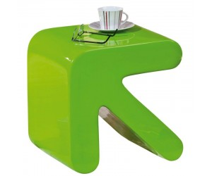 Table d'appoint design vert
