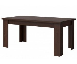 Table de salle à manger rectangulaire contemporaine coloris gris Fino