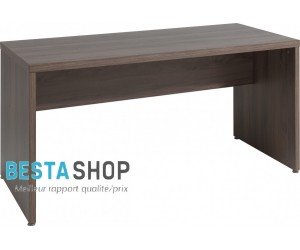Bureau contemporain 140 cm coloris noyer ROSANA