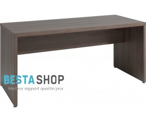 Bureau contemporain 160 cm coloris noyer ROSANA