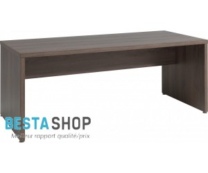 Bureau contemporain 200 cm coloris noyer ROSANA