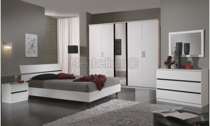 Chambre adulte complète avec commode ITALY