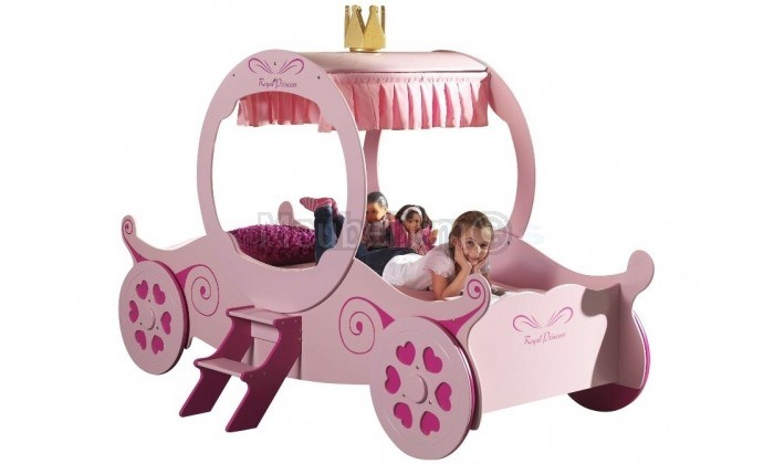 Lit enfant carrosse princesse DISNEY