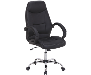 Fauteuil de bureau en noir ERGONOMIQUE