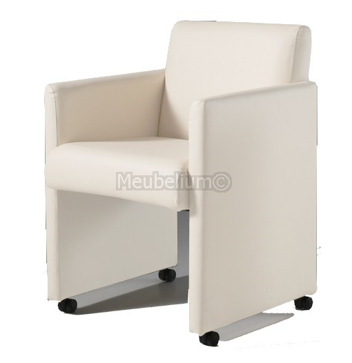 fauteuil cabriolet design en eco cuir clup. Black Bedroom Furniture Sets. Home Design Ideas