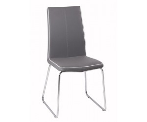 Chaise moderne eco-cuir  FABRICE