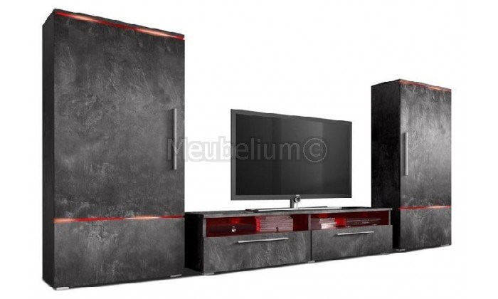 Ensemble tv-hifi mural design NEXT